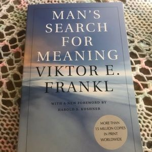 Other - Man's Search For Meaning Book by Viktor E. Frankl